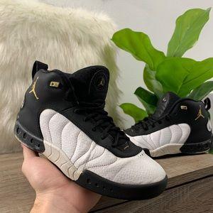 Nike Air Jordan Jumpman Pro XII Black White Wolf